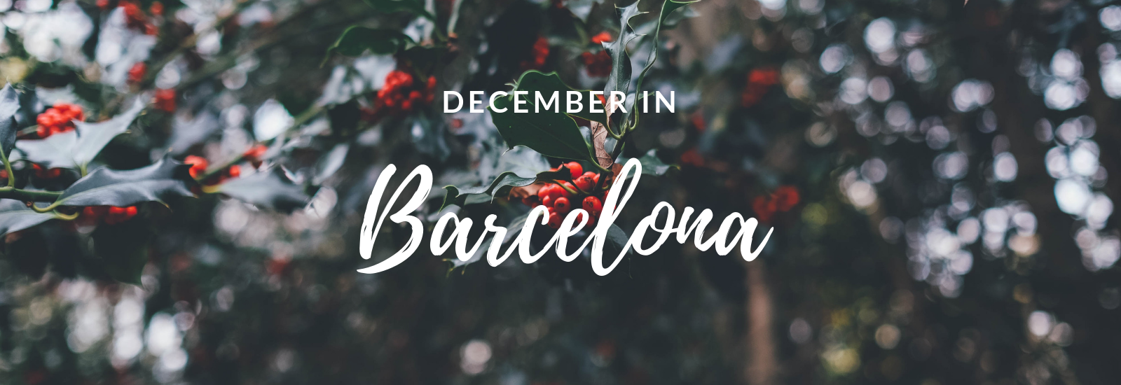 December in Barcelona
