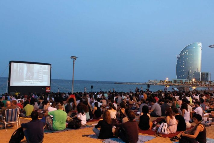 02 cinema2012 1024x683 e1530109537920 The Best Outdoor Cinemas In Barcelona