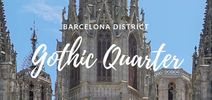 Barcelona District - Gothic Quarter