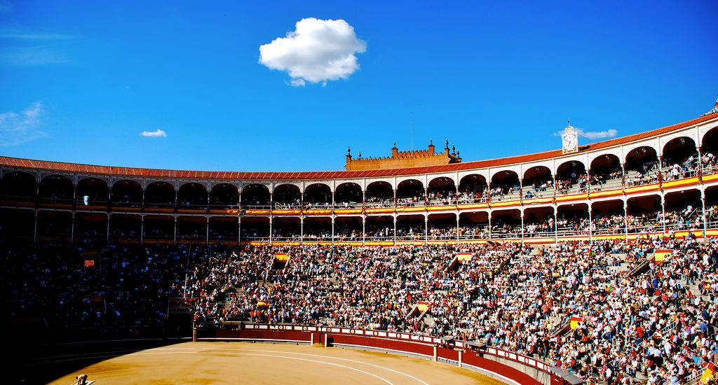 Illustration Las Ventas bullfighting stadium by John Hietter | flickr