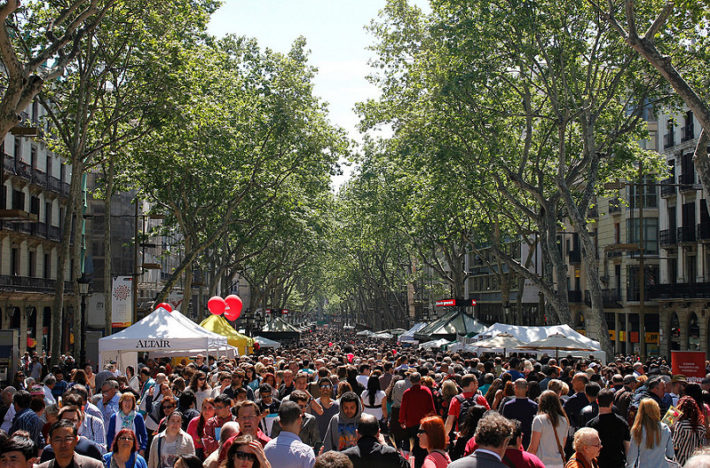 17071437650 d914d65c4d c e1523357529679 Sant Jordi Day in Barcelona: A Day for Literature and Love