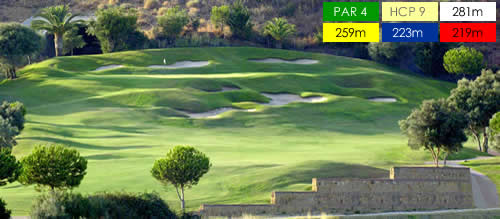 Marbella Golf & Country Club.1st_Hole. Marbella - Malaga