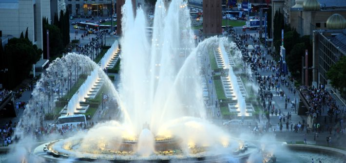 Magic fountain