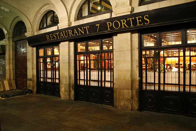7 portes The best Spanish restaurants in Barcelona!
