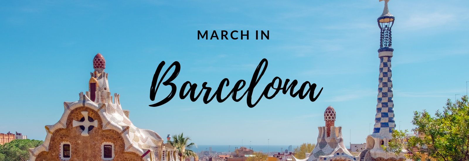 March in Barcelona