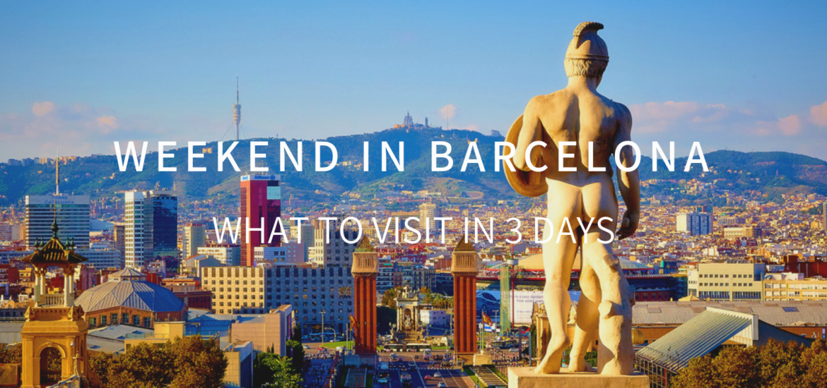 weekend in barcelona