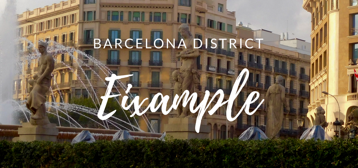 Barcelona District: Eixample