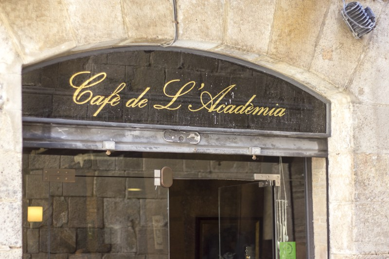 Café de lAcadèmia The best Spanish restaurants in Barcelona!