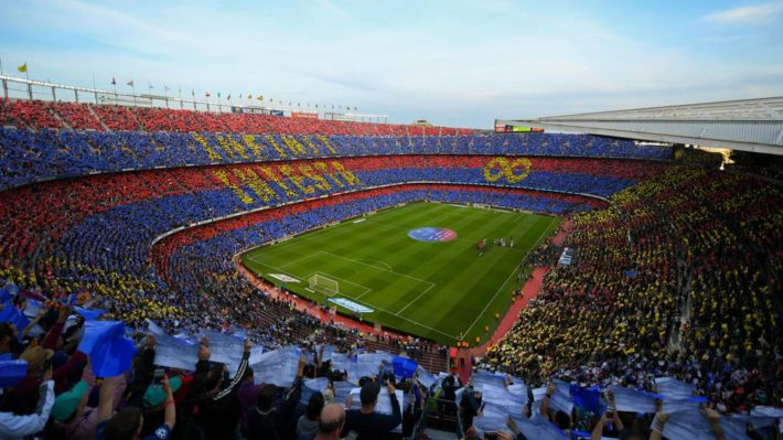 Camp Nou Picture courtesy of beIN SPORTS e1566986074643 October in Barcelona