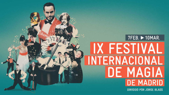 Cartel del Festival Internacional de Magia de Madrid Photo couresy of Europa Press e1550573140843 March in Madrid