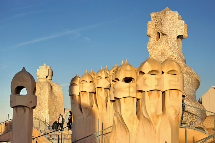 Casa Mila chimneys by Yuri Rapoport Flickr Casa Mila: Antoni Gaudís Masterpiece in the Heart of Barcelona