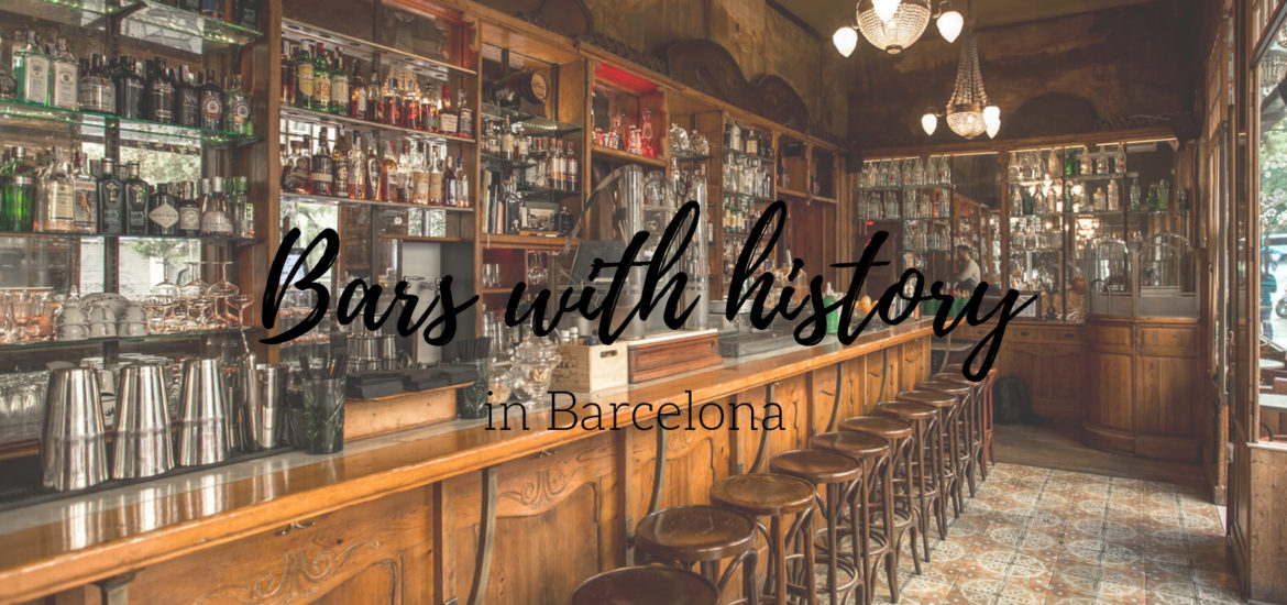 Bars with history Bcn