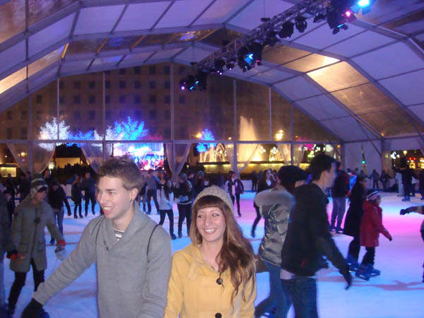 Ice Rink in Barcelona