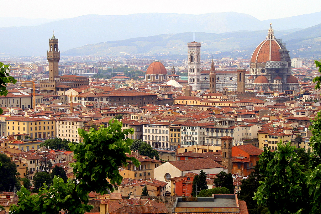 Florence skyline Easter Time and April in Florence   Fun For The Family!
