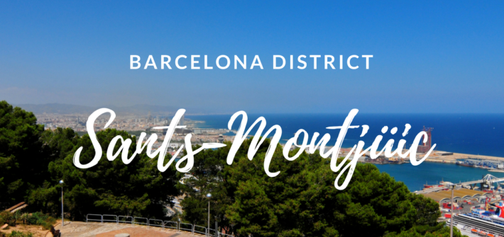Barcelona's district: Sants-Montjüic