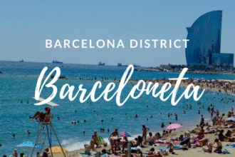 Barceloneta district Barcelona