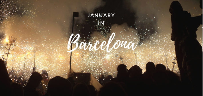 January in Barcelona