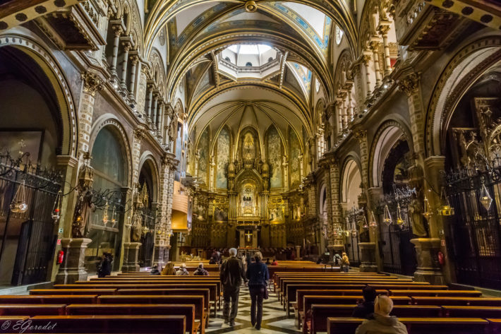 Inside the church by Evgeny Gorodetsky flickr e1539184107467 The Famous Peak   Montserrat