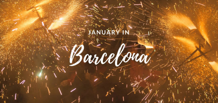 January in Barcelona | Photo by Mariano Martínez Mateo | flickr