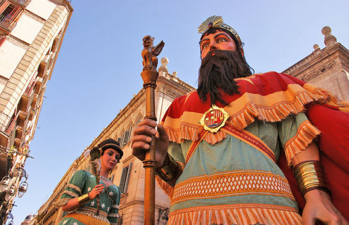 La Mercé Festival Picture courtesy of Runner Bean Tours e1566204460456 September in Barcelona