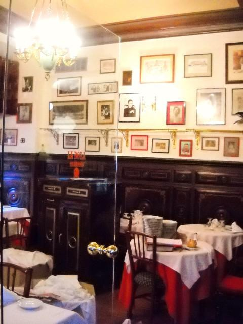 La bola Restaurant. Madrid