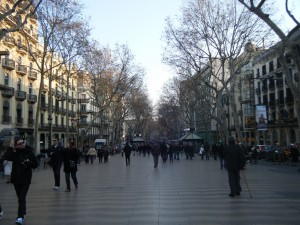 Las Ramblas Barcelona 300x225 The ultimate shopping guide for Barcelona