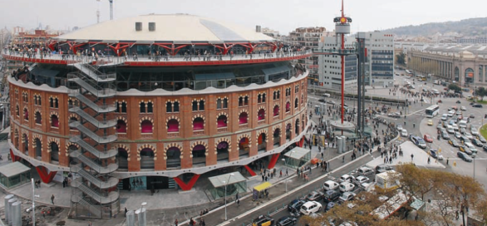 Las arenas shopping center Picture courtesy of Blog construmatica e1571648869595 The best shopping malls in Barcelona