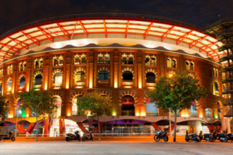 Las Arenas Shopping Mall in Barcelona