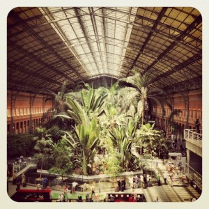 Madrid atocha station 300x300 What to do on a rainy day in Madrid