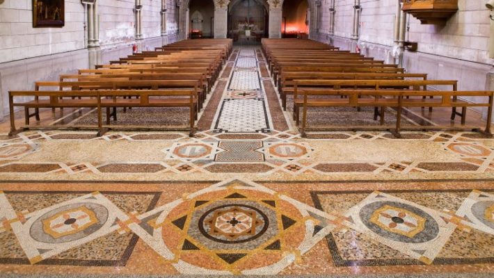 Mosaic of Sant Pacià Church Picture courtesy of Barcelona Ajuntament 1 e1560261242770 District of the month: Sant Andreu