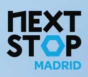 Next stop madrid logo
