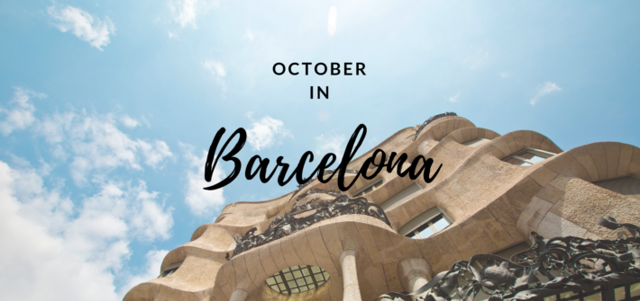 October in Barcelona