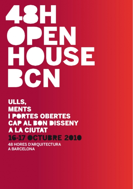 Open House BCN Open House Barcelona! 16th and 17th of October.