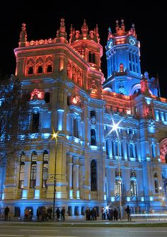Palacio Celebrate Christmas with your family in madrid