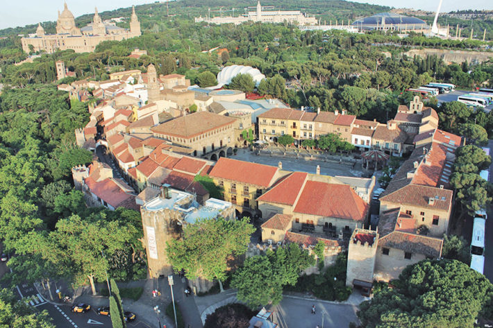 Poble Espanyol from a birds view SuiteLife e1549466121901 How to experience the entire Spanish culture in a few hours?