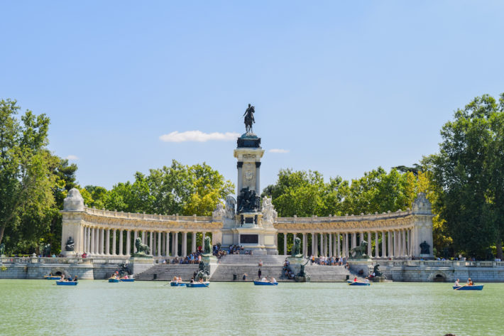 Retiro Park Picture courtesy of Culture Passport e1575893641992 January in Madrid