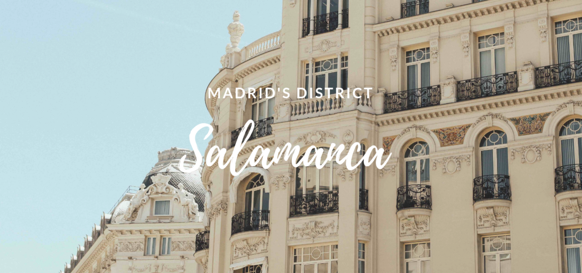 Salamanca district in Madrid