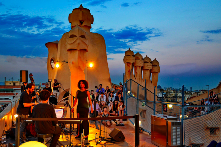 Screen Shot 2018 06 28 at 15.45.33 e1530193623728 Jazz Evenings at La Pedrera Roof Terrace