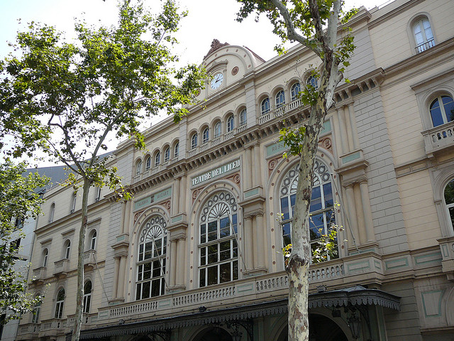 The Liceu Theatre in Barcelona