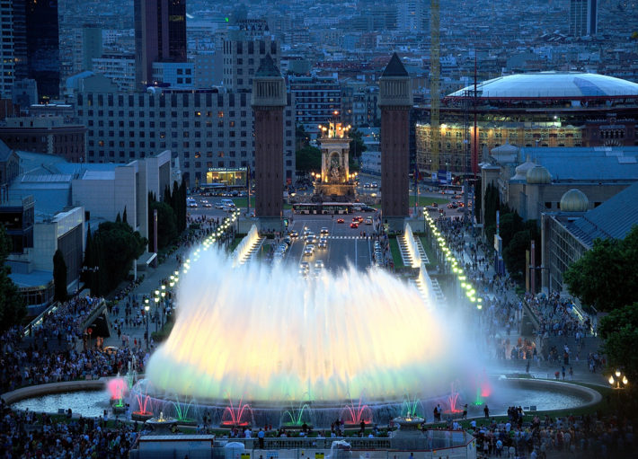 The magic fountain of Montjuïc Barcelona by Oleg Bartunov Flickr e1538564726863 Ready to Jazz It Up a Bit?