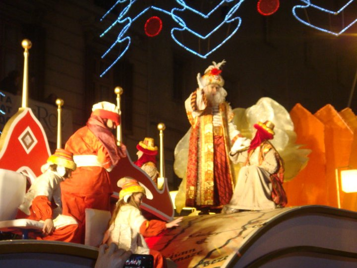 Three Kings Parade in Barcelona