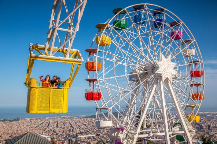 Tibidabo Amusement Park Tibidabo e1562152401521 Children friendly activities in Barcelona