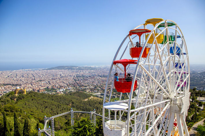 Tibidabo Picture courtesy of es.m.wikipedia.org  e1579262190451 The best viewpoints in Barcelona