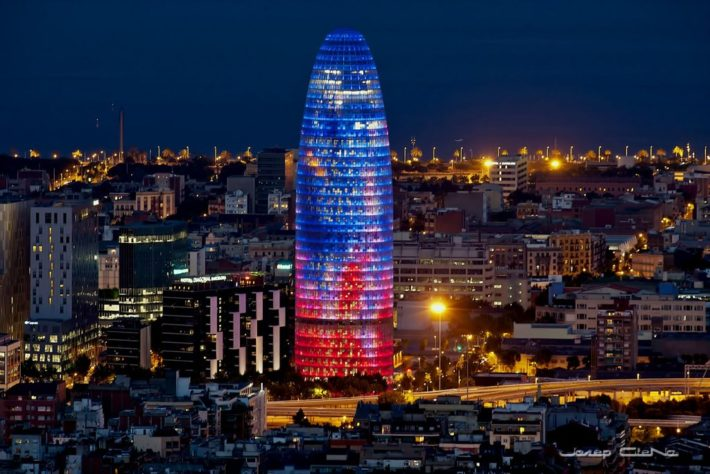 Torre Agbar Picture courtesy of Flickr e1583498083655 Poble Nou