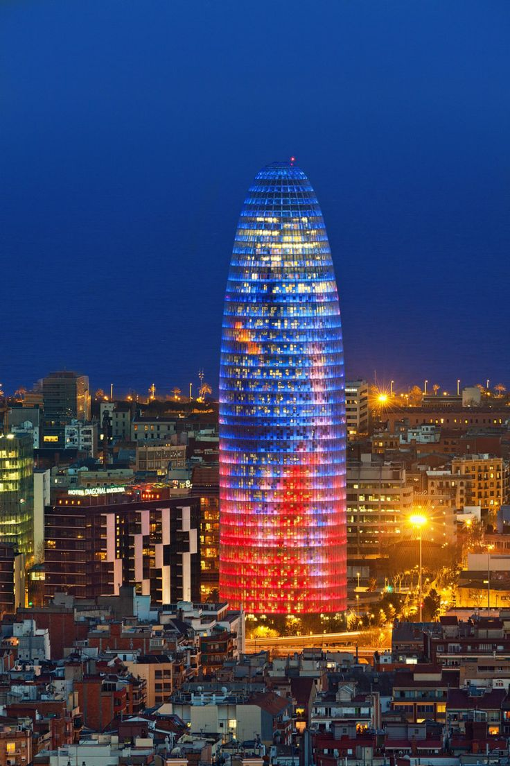 Torre agbar Traveler.es  November in Barcelona   Some great things to do