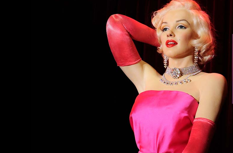 Marilyn Wax Museum in Madrid