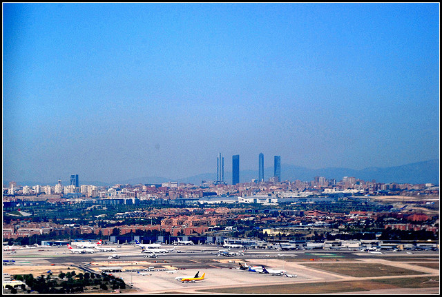 airport madrid