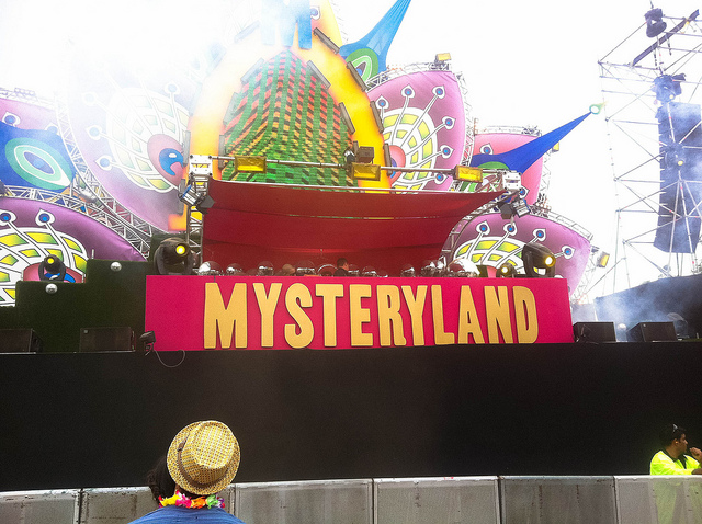 amsterdam mysteryland Guillermo Melgarejo August in Amsterdam