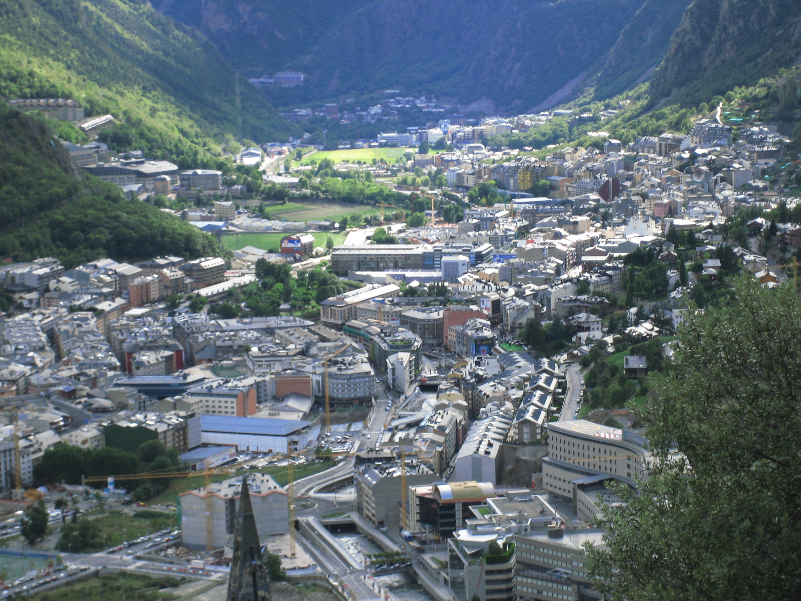 andorrA 1 Andorra  a new country between Spain and France