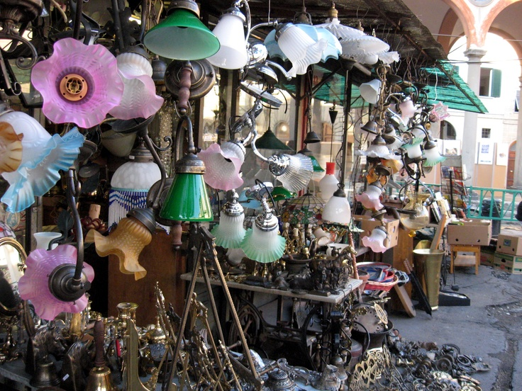 antique market florence March in Florence
